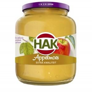 Hak Appelmoes extra kwaliteit 710g