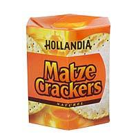 Hollandia Matze Crackers Naturel 100g